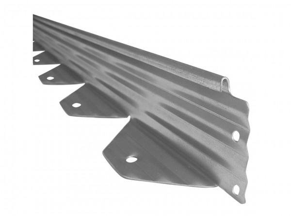 L-Profil (Winkelprofil) 240 cm, Edelstahl, Kantung 9x6 cm