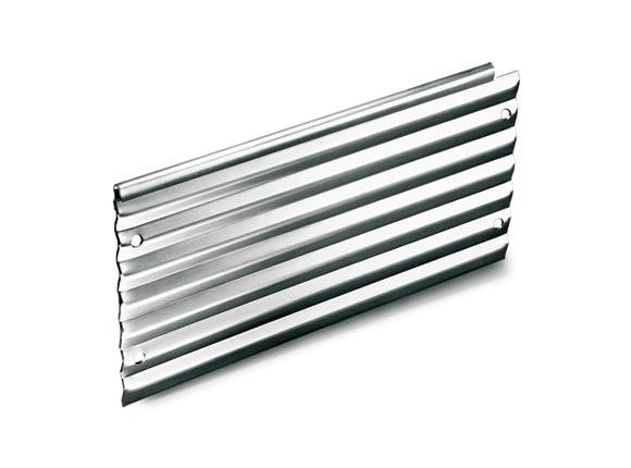 Rasenkante aus verzinktem Stahl, Längsprofil 120 cm, Höhe 15 cm