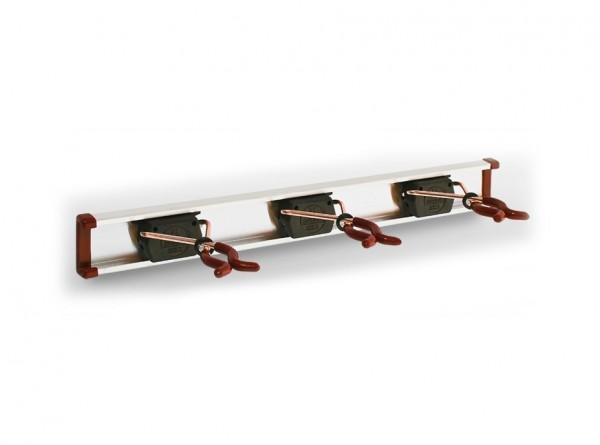 3 Bruns-Gerätehalter mit 0,5 m Führungsschiene