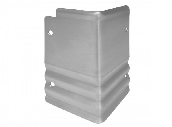 Rasenkante aus verzinktem Stahl, PRO-Serie, Eckverbinder, Aussenecke 90°, Höhe 20 cm