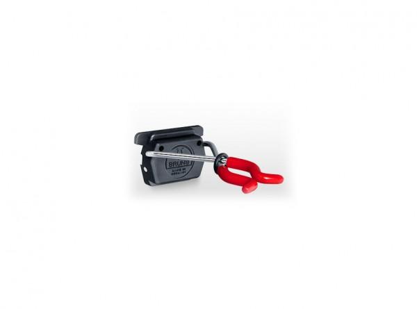 2 Bruns-Gerätehalter ohne Schiene
